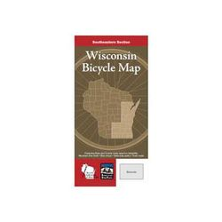 American Bike Trails Wisconsin Sectional Bicycle Map