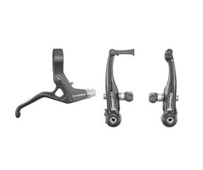 Tektro-Linear-Pull-BMX-Brake-With-Lever