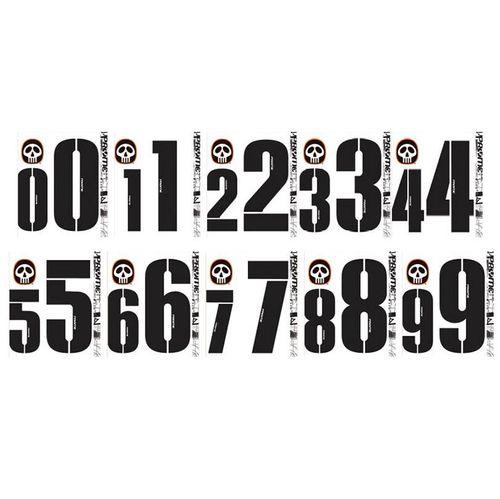 Pryme Individual Number Decal