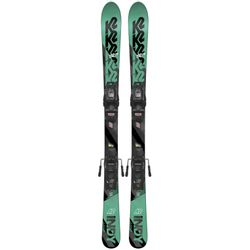 K2 Indy Kids Skis With Marker FDT 4.5 Bindings 2019