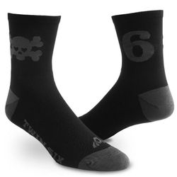Twin Six Skull Cycling Socks