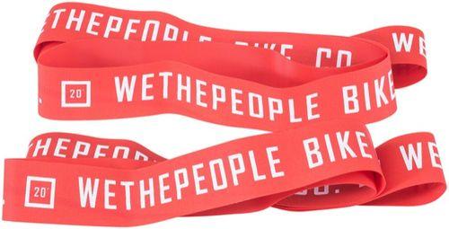 We The People Nylon Rim Tape Set, Red