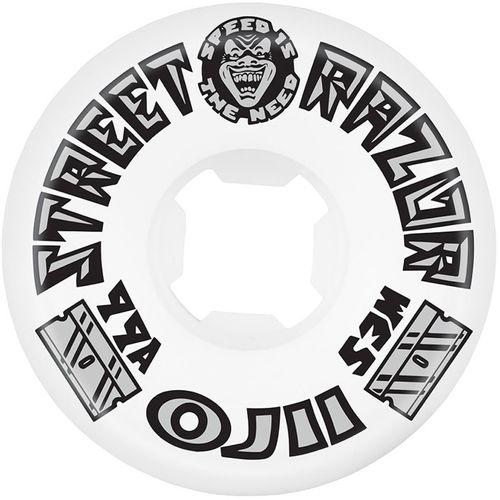 OJ Wheels Street Razor Skateboard Wheels 53mm White