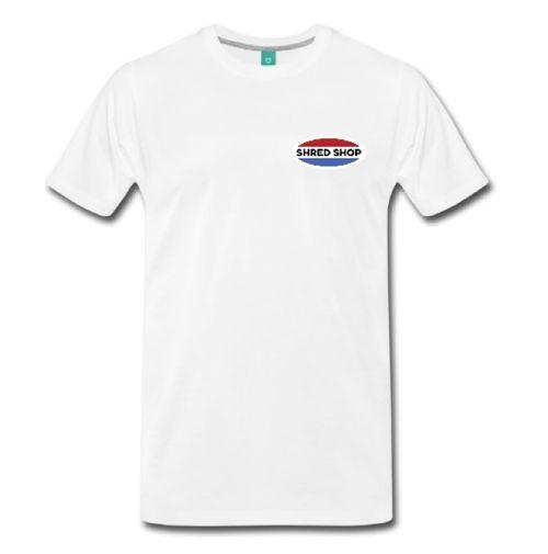 Shred Shop Logo T- Shirt