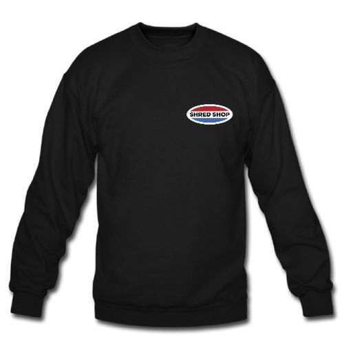 Shred Shop Logo Crew Neck Sweatshirt