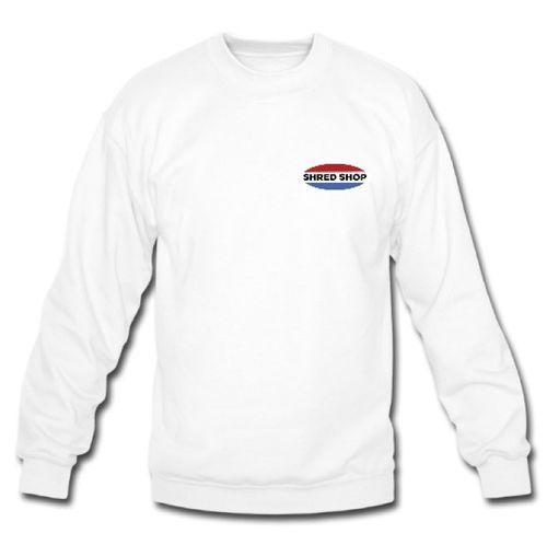 Shred Shop Logo Crew Neck Sweatshirt
