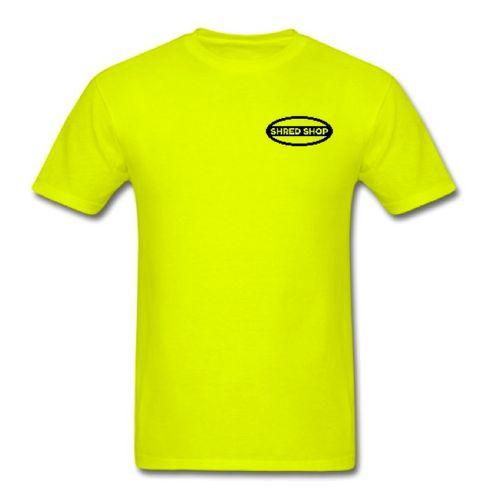 Shred Shop TEAM high vis T- Shirt