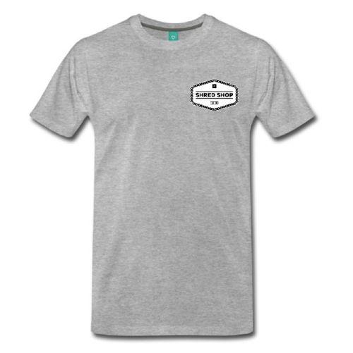 Shred Shop Chain Logo T- Shirt