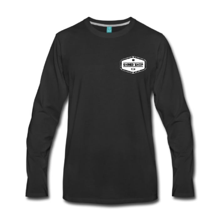Shred-Shop-Chain-Logo-Long-Sleeve-Shirt
