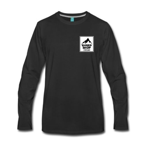 Shred Shop Mountain Logo Long Sleeve Shirt