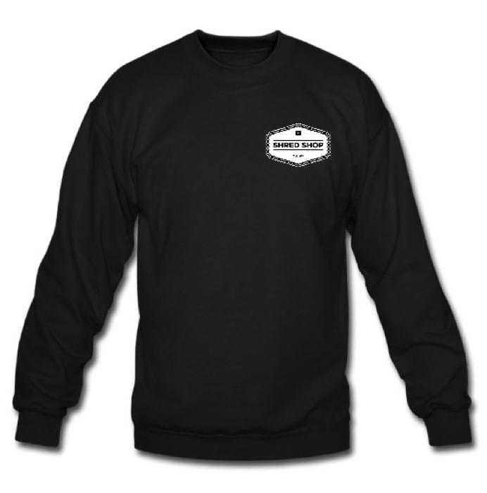 Shred-Shop-Chain-Logo-Crew-Neck-Sweatshirt
