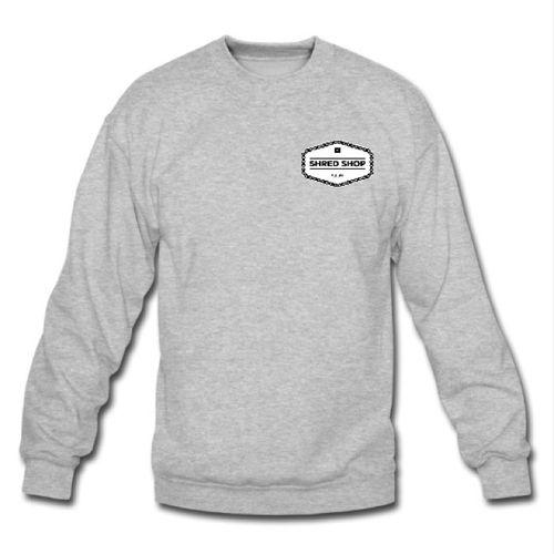 Shred Shop Chain Logo Crew Neck Sweatshirt
