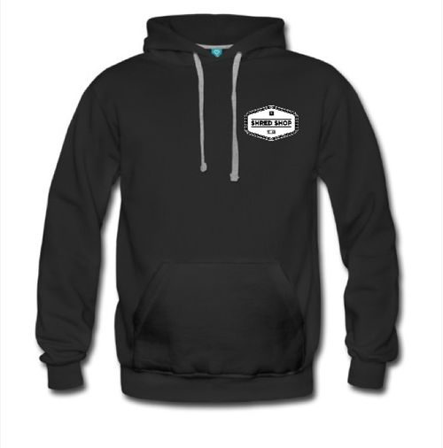 Shred Shop Chain Logo Hoodie