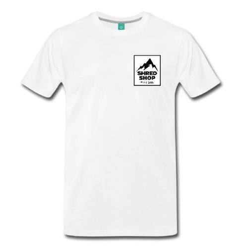 Shred Shop Mountain T- Shirt