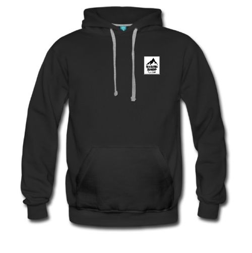 Shred Shop Mountain Logo Hoodie
