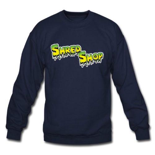 Shred Shop Slime Crew Neck Sweatshirt