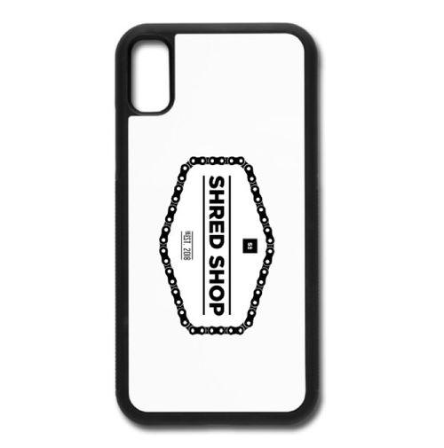 Shred Shop Chain Logo Phone Case