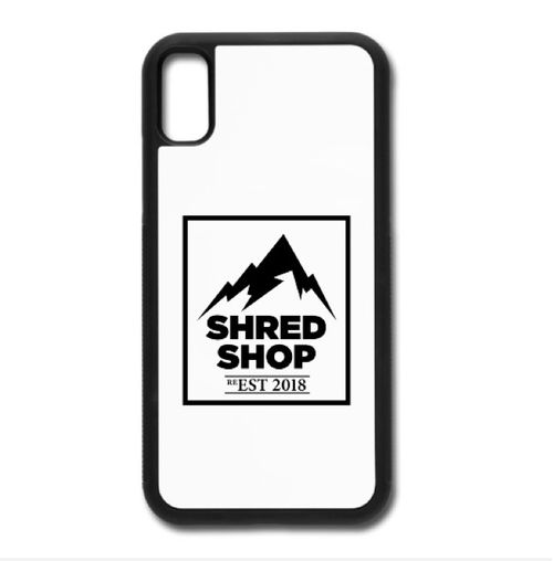 Shred Shop Mountain Logo Phone Case