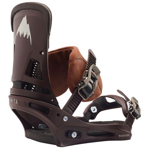 Burton Malavita Leather ReFlex Snowboard Bindings 2020