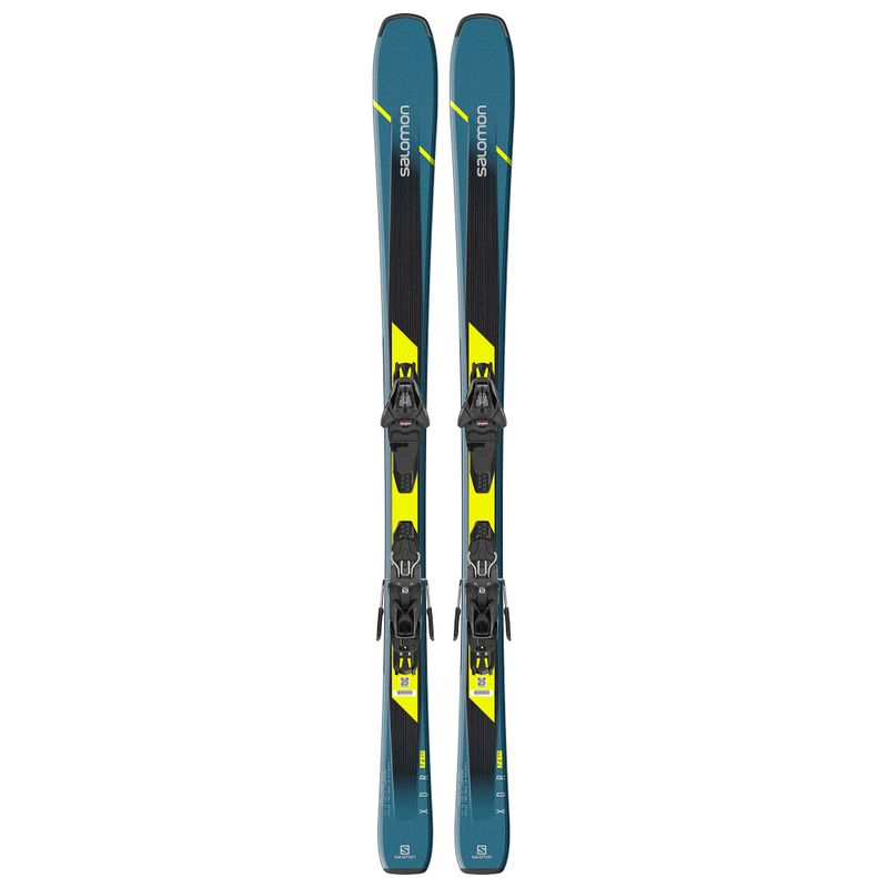 Salomon-XDR-76-ST-Skis-With-Lithium-10-Bindings-2020