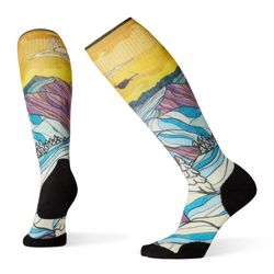 Smartwool PhD Ski Light Elite Afterglow Print Women's Socks 2020