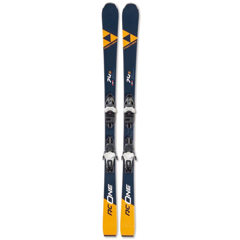 Fischer-RC-One-74S-Ski-With-RS-10-Bindings