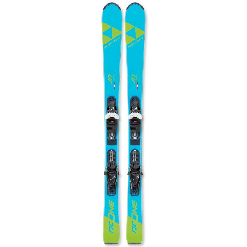 Fischer-RC-One-Jr-Youth-Skis-With-FJ4-Bindings-2020