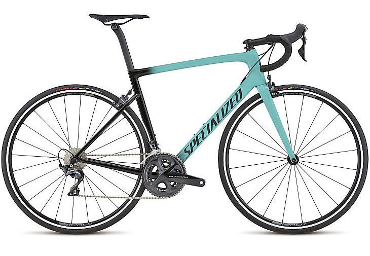 specialized performance racing road bike in turquoise