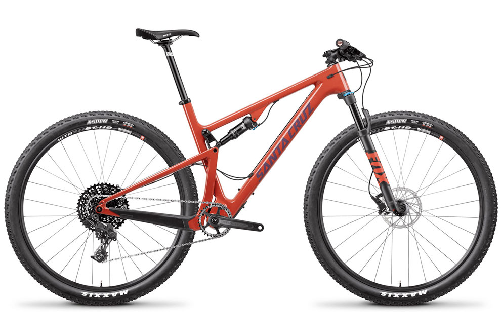 Santa Cruz Cross Country XC Mountain Bike in orange
