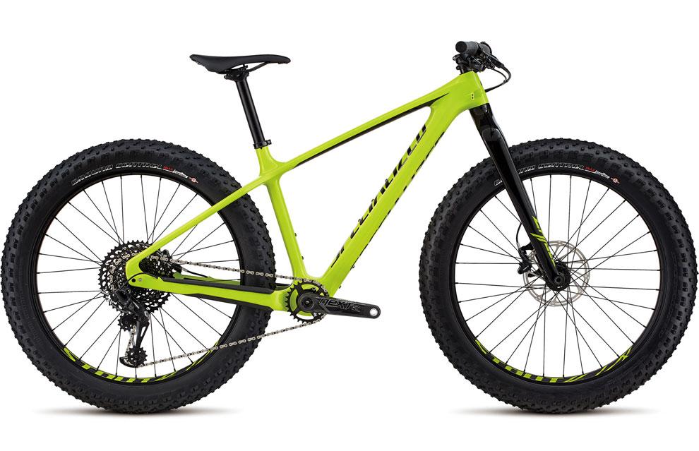 Specialized Fat Tire Mountain Bike in bright green