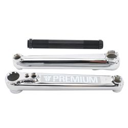 Premium Products 1948 Chrome BMX Cranks