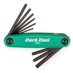 Park Tool TWS-2 Torx Folding Wrench Set