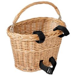 Avenir Small Wicker Bike Basket