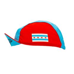 ERIK'S Exclusive Chicago Flag Cycling Cap
