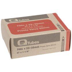 Q-Tubes 700x23/25 60mm Presta Valve Tube
