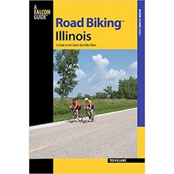 American Bike Trails Road Biking Illinois Book