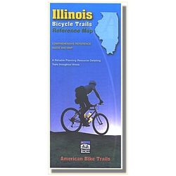 American Bike Trails Illinois Reference Map