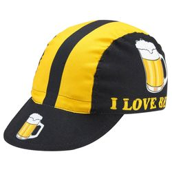 World Jerseys I Love Beer Cycling Caps
