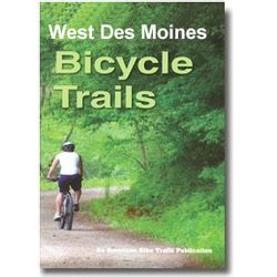 American Bike Trails Des Moines Trail Map West