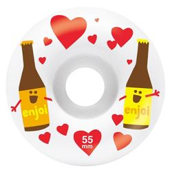 Enjoi Smitten Beer 55mm Skateboard Wheels