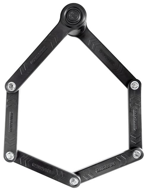 Kryptonite Keeper 585 Integrated Chain Lock Keyed 5mm x 85cm Hardened Deadbolt