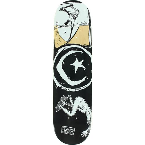 Foundation Star & Moon Boiling Water Skateboard Deck