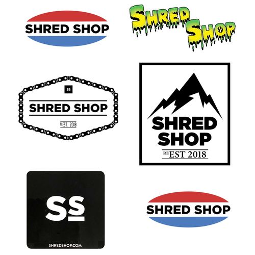 Shred Shop Sticker Assortment Pack
