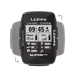 Lezyne Super Pro Loaded HR GPS Computer