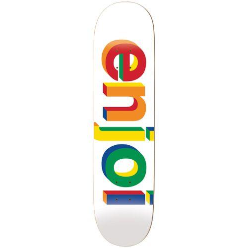Enjoi Helvetica Neue Hybrid Skateboard Deck