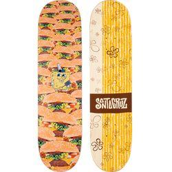 Santa Cruz SpongeBob Krabby Patties Skateboard Deck