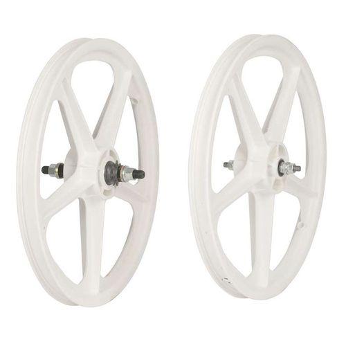 Skyway Tuff II 20 Inch 5 Spoke BMX Wheelset