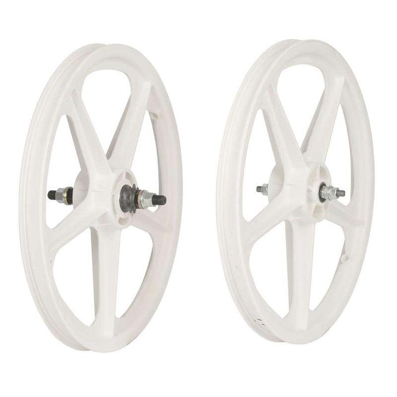 Skyway-Tuff-II-20-Inch-5-Spoke-BMX-Wheelset