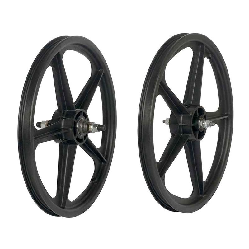 Skyway-Tuff-II-20-Inch-5-Spoke-BMX-Wheelset