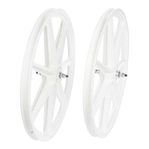 Skyway Tuff Retro 24 Inch 7 Spoke Wheelset